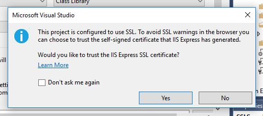 Enabling SSL in IIS Express – Doylestown Coder